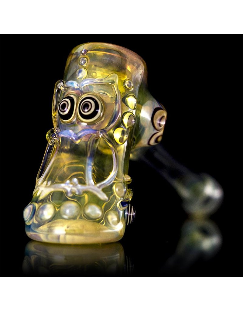 Ginny Snodgrass-Gietl Ginny Snodgrass-Gietl Owl Glass Dry Pipe 2