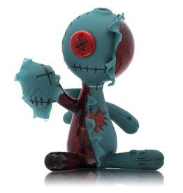 Peter Muller SOLD Muller Azul / Pomegranate Face Ripper Voodoo Doll MxR