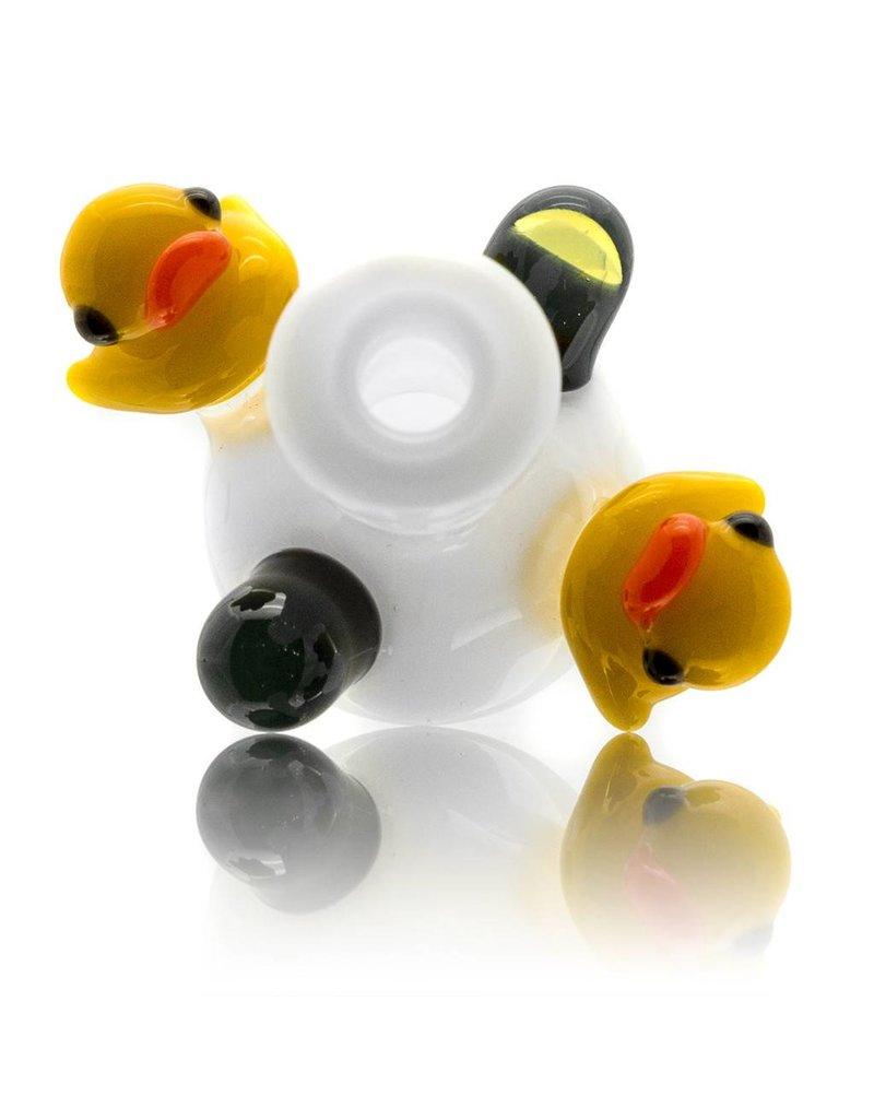 Ryno Ryno White Bubble Cap w/ 2 Ducks MxR