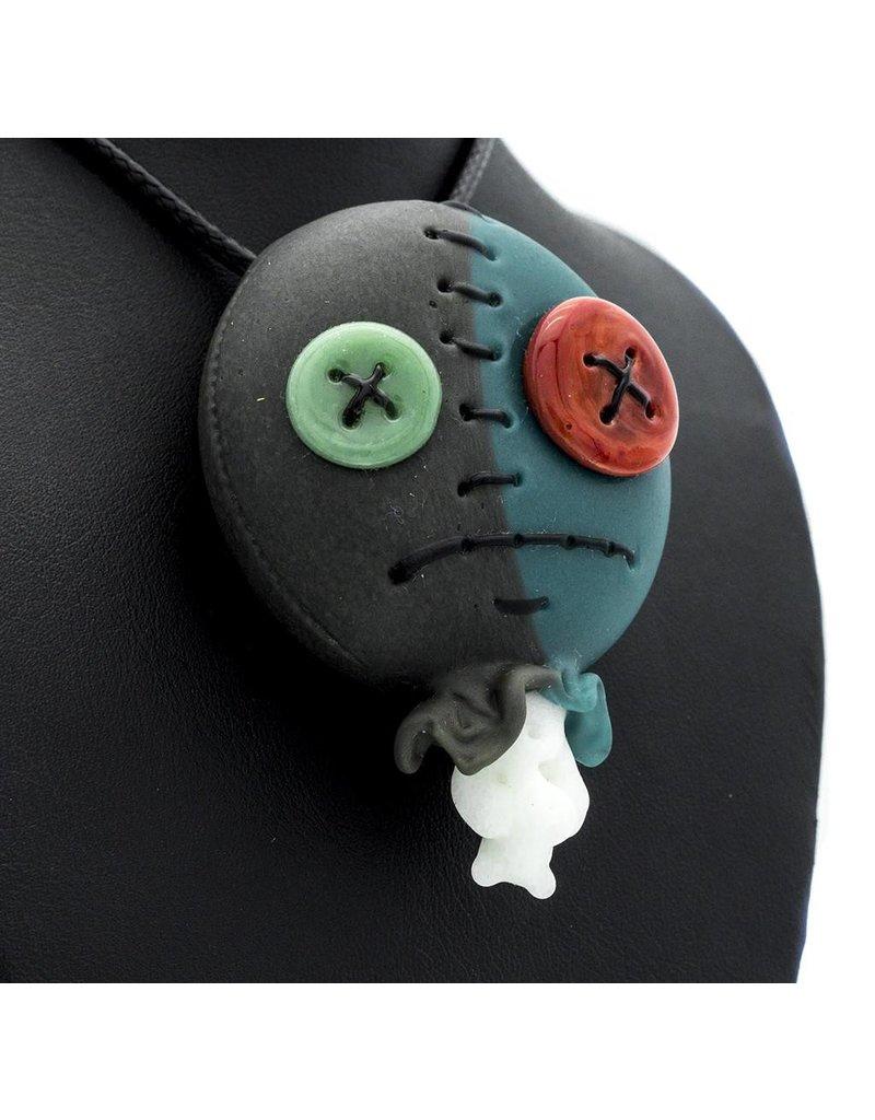 Peter Muller x Ryno Muller Azul / Portland Gray Doll Head Pendant MxR