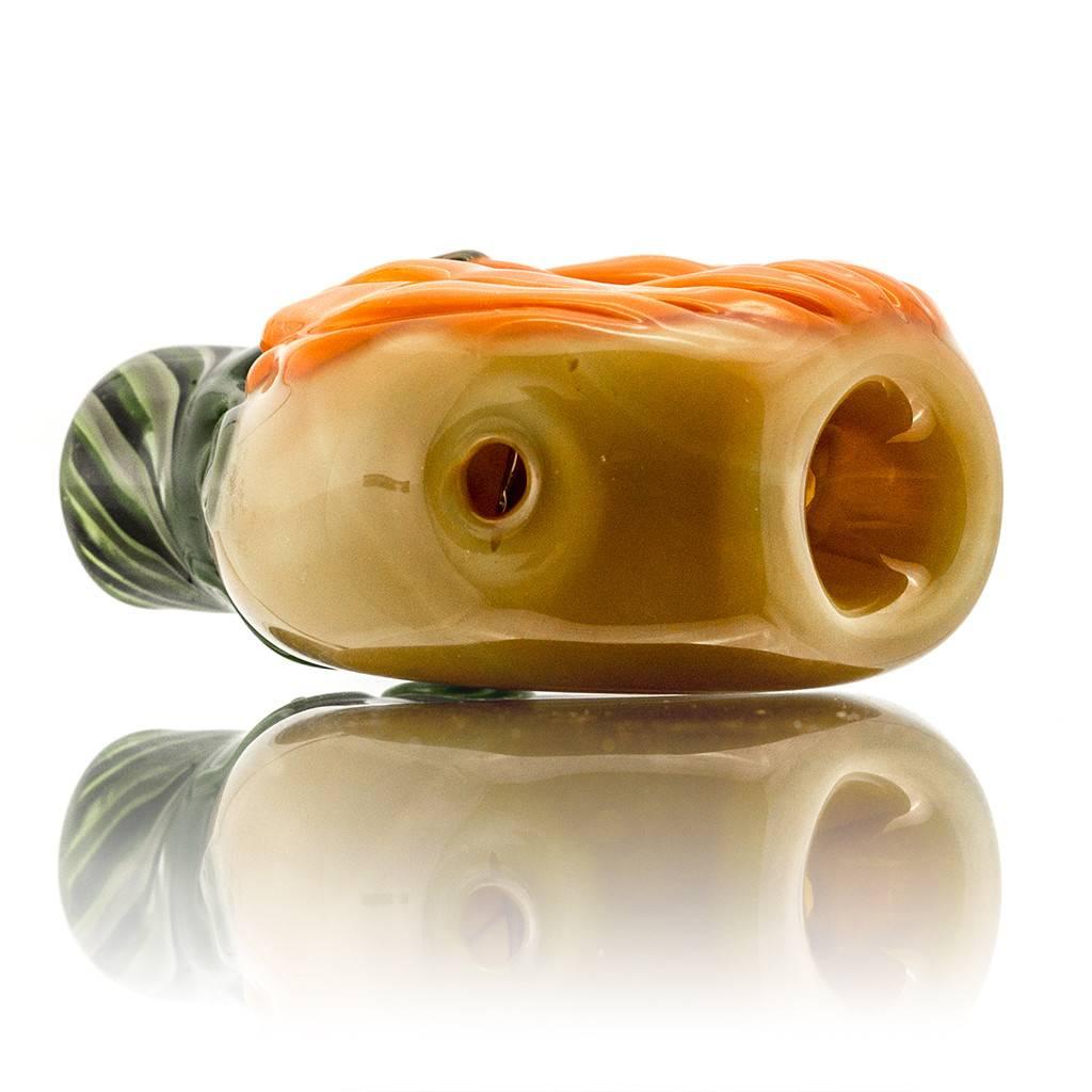 KGB x Sarah Marblesbee FF UV Face Pumpkin Chillum Donut KGB x Sarah Marblesbee