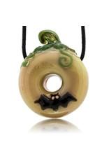 KGB x Sarah Marblesbee FF UV Pumpkin #3 Donut Pendant KGB x Sarah Marblesbee