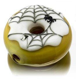 KGB x Sarah Marblesbee SOLD FF Spiderweb Donut KGB x Sarah Marblesbee