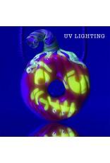KGB x Sarah Marblesbee FF UV Pumpkin #4 Donut Pendant KGB x Sarah Marblesbee
