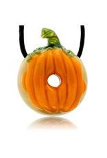 KGB x Sarah Marblesbee FF UV Pumpkin #1 Donut Pendant KGB x Sarah Marblesbee