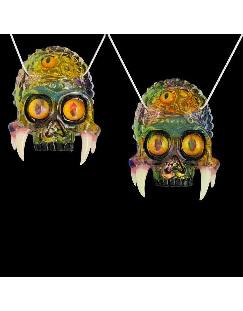 Salt x AKM Fade Skull Pendant (Terps / Blue Dream / Serum / Antidote / Purple Rain) Dark Arts