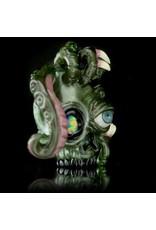 Salt x AKM Dual Sided OG Moss Skull Pendant Dark Arts