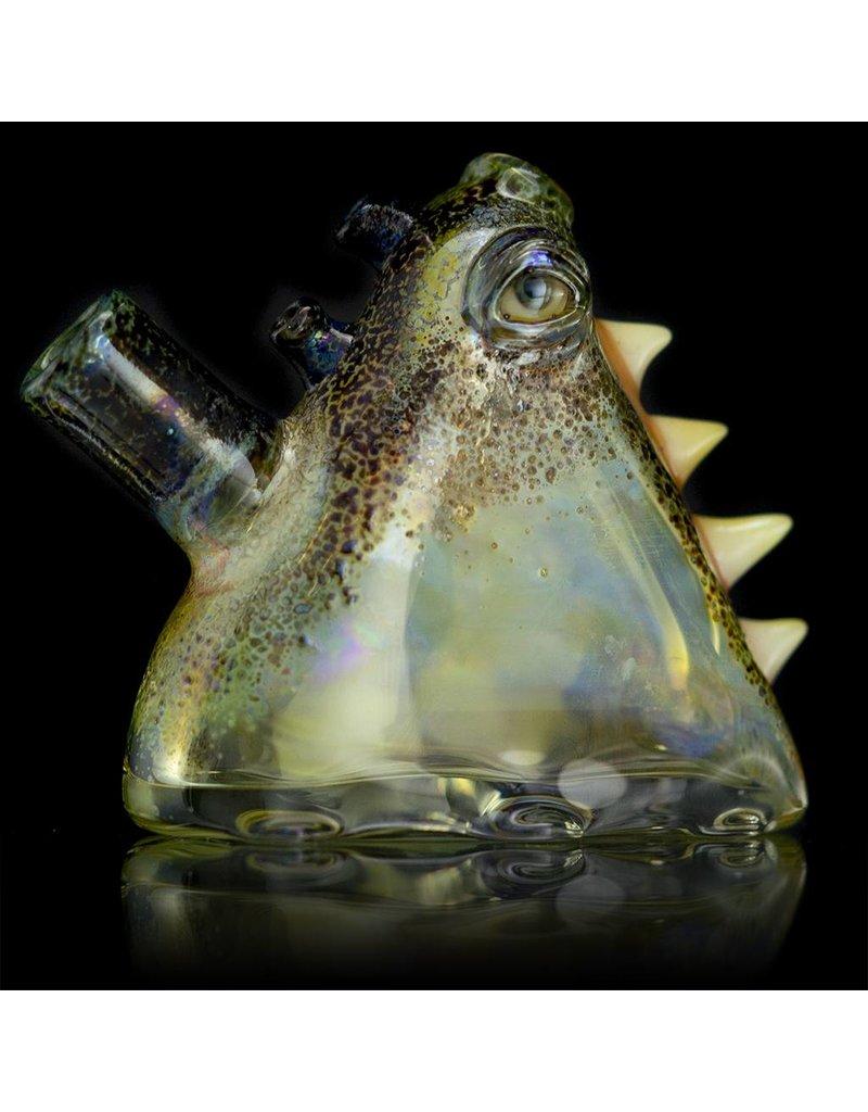 SALT Salt Glass Eye Pod 10mm Rig Glass Dark Arts