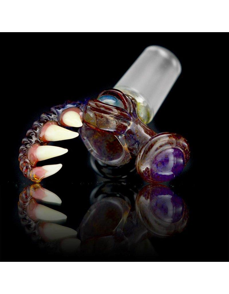 SALT Salt Glass 18mm Curled Teeth Slide