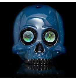 AKM SOLD AKM Plum Crazy / Aqua Azul Dewar Skull Dark Arts