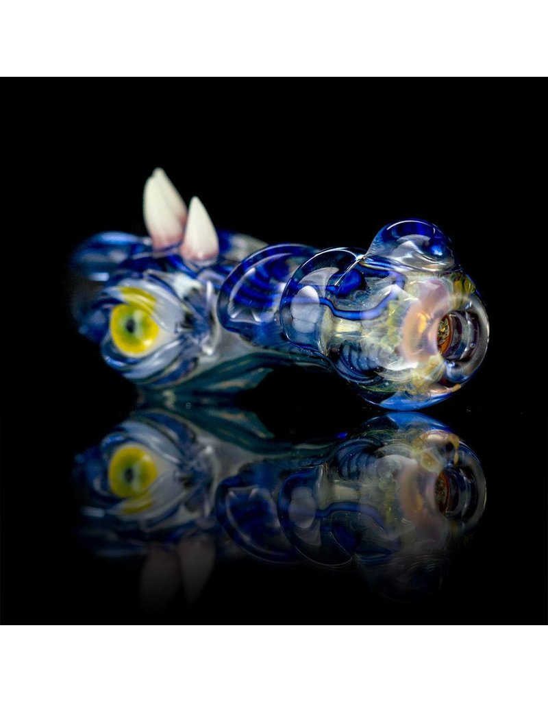 SALT Salt Glass Blue Dream Spoon