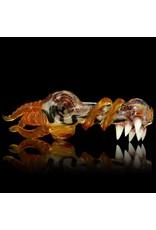 SALT Salt Glass Orange Transparent Spoon