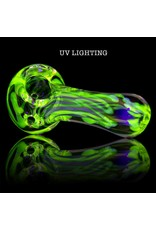 Multiverse Multiverse Small UV Inside Out Fume Glass Spoon Dry Pipe C