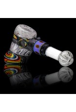 Mystic Family Glass Flower Millie Glass Hammer Dry Pipe by Mystic Family Glass