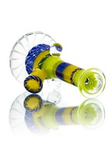Mystic Family Glass 10mm Cold Cut UV Mini Tube  by Mystic Family Glass