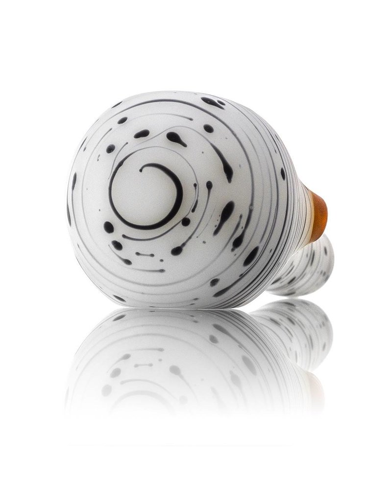 Witch DR Witch DR Frosted Glass Birch Spoon Dry Pipe (E)