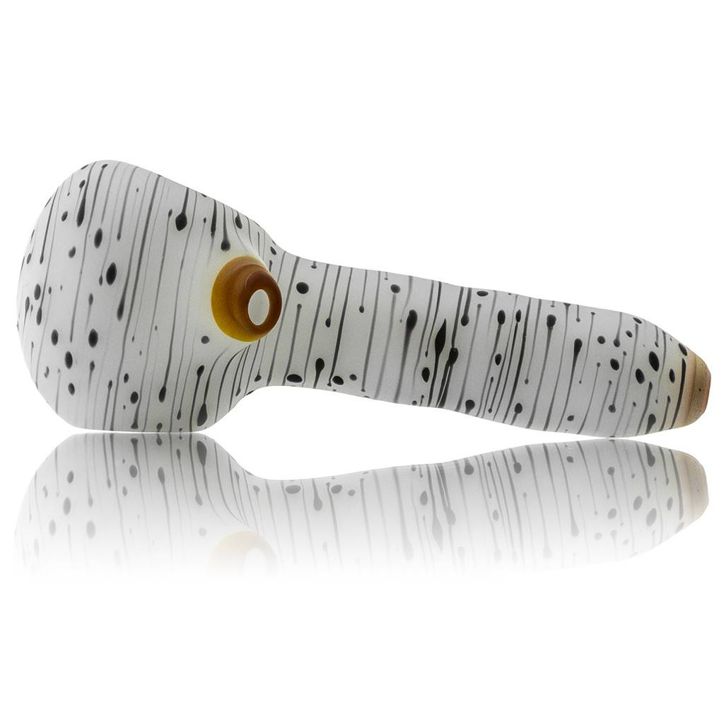 Witch DR Witch DR Frosted Glass Birch Spoon Dry Pipe (F)