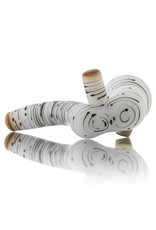 Witch DR Witch DR Birch Themed Frosted Glass Sherlock Dry Pipe (A)