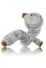 Witch DR Witch DR Birch Themed Frosted Glass Sherlock Dry Pipe (B)