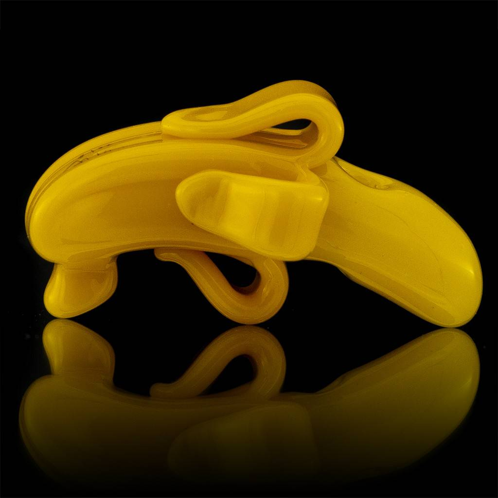 COYLE Coyle Yellow Monochrome Glass Banana Pendant