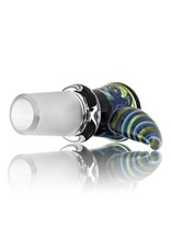 18mm Horn Handle Glass Bowl Slide by Mike Fro (E)