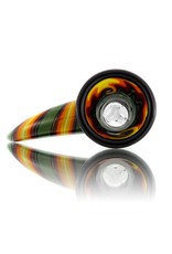 14mm (M) Horn Handle Glass Bowl Slide by Mike Fro (A)