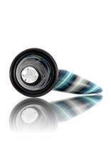 14mm (M) Horn Handle Glass Bowl Slide by Mike Fro (B)