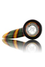 18mm Horn Handle Glass Bowl Slide by Mike Fro (K)