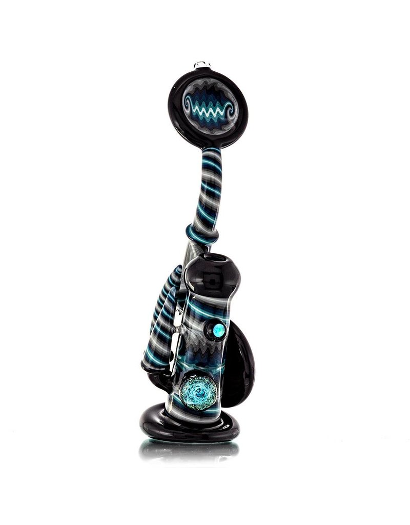 Fully Worked Rig Bubbler by Mike Fro - Waldo (A)