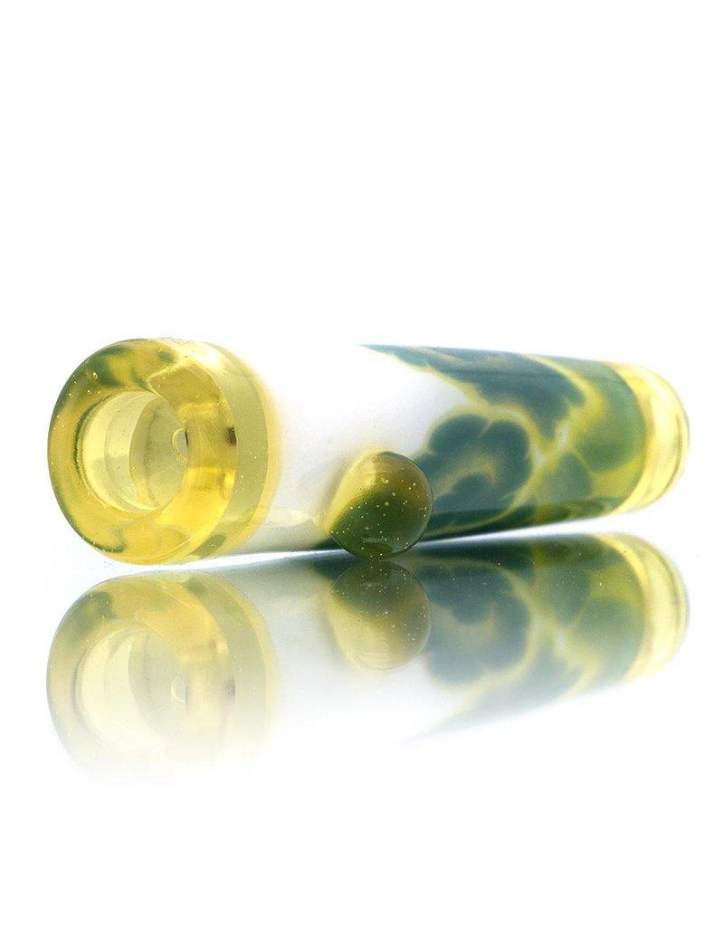 Rye Rye Atlas Glass Chillum One Hitter (C)
