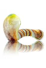 Plug-A-Nug Plug-A-Nug Inside Out Frit Twist Glass Sherlock Dry Pipe (A)