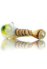 Plug-A-Nug Plug-A-Nug Inside Out Frit Twist Glass Sherlock Dry Pipe (A)