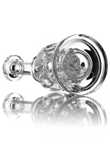 14mm Clear Exosphere Dab Rig by Dynamic Glass (A)