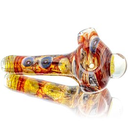 Jerry Kelly Jerry Kelly Millie Glass Dry Pipe #21 - Bee My Honeycomb