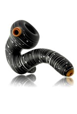 Witch DR Witch DR Frosted Glass Black Birch Sherlock Dry Pipe (B)