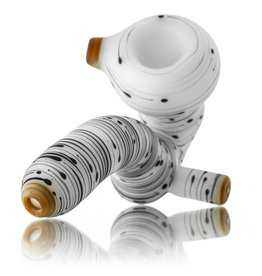 Witch DR SOLD Witch DR Birch Themed Frosted Glass Sherlock Dry Pipe (C)