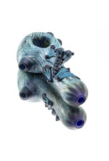 Witch DR Witch DR Frosted Glass SAG Frog Dry Pipe (C)