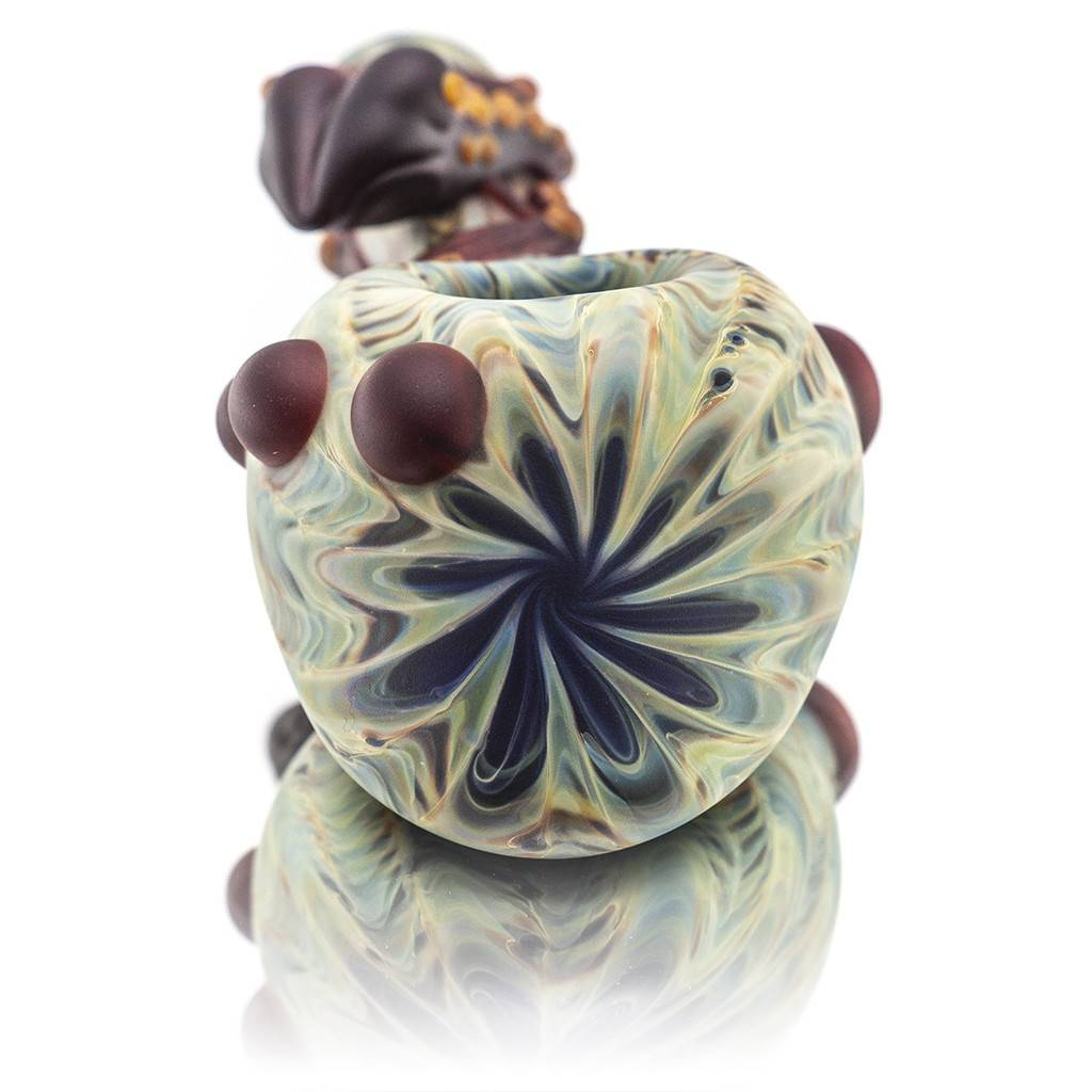 Witch DR Witch DR Frosted Glass SAG Frog Dry Pipe (D)