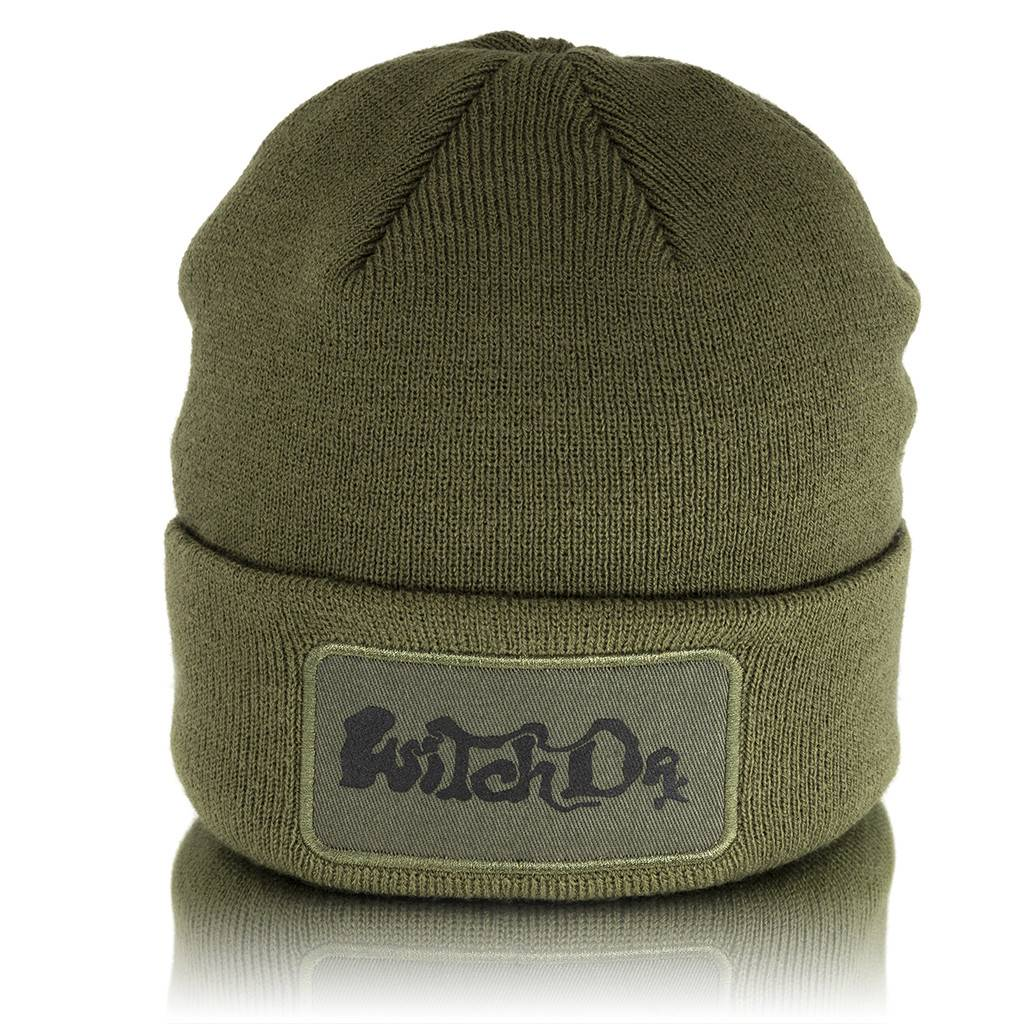 a9ff5308fd89f Witch Dr Knit Cuffed Olive Beanie - Witch DR