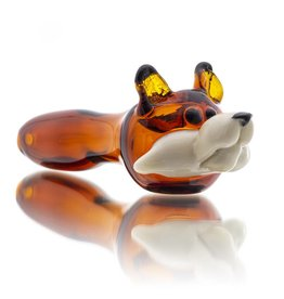 Tammy Baller SOLD Tammy Baller Wolf Glass Dry Pipe (A)