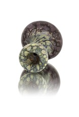 Stone Tech Glass Stone Tech Glass Classic Frosted Glass Mushroom Chillum One Hitter (B)