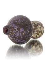 Stone Tech Glass Stone Tech Glass Classic Frosted Glass Mushroom Chillum One Hitter (A)