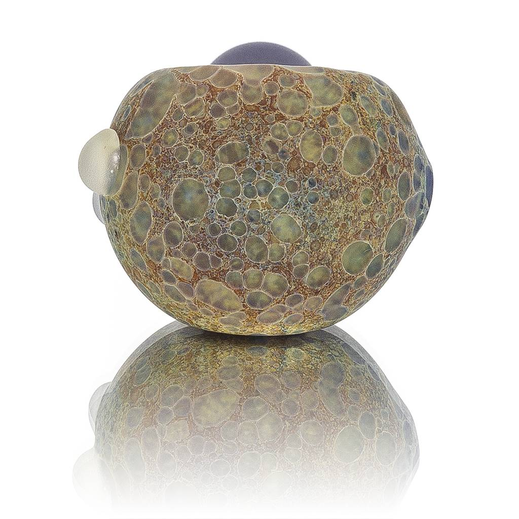 Stone Tech Glass Stone Tech Stoned Cap Frosted Glass Dry Pipe (C)