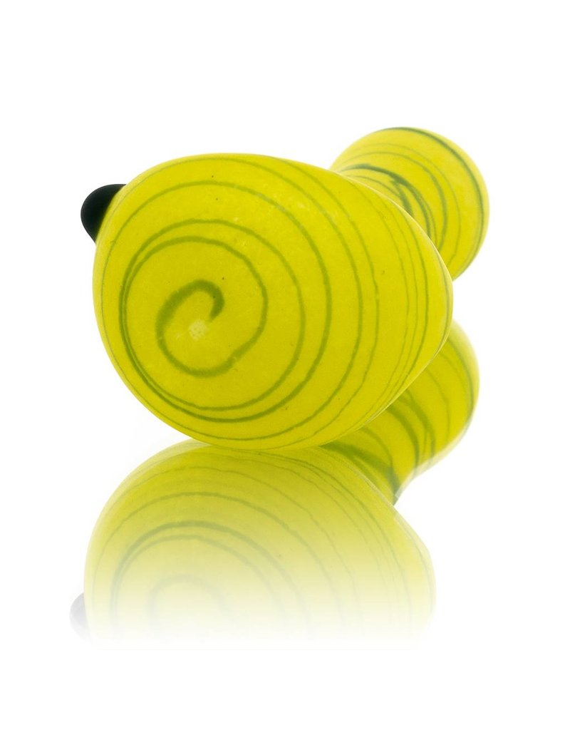 SAND & FIRE Sand and Fire Marble Fritter Frosted Glass Dry Pipe (I)