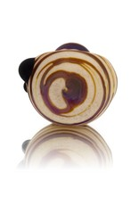 SAND & FIRE Sand and Fire Marble Fritter Frosted Glass Dry Pipe (K)