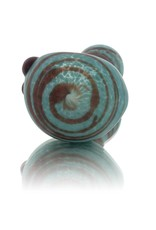 SAND & FIRE Sand and Fire Marble Fritter Frosted Glass Dry Pipe (B)