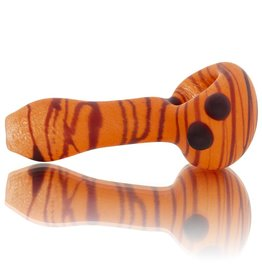 SAND & FIRE Sand and Fire Marble Fritter Frosted Glass Dry Pipe (D)