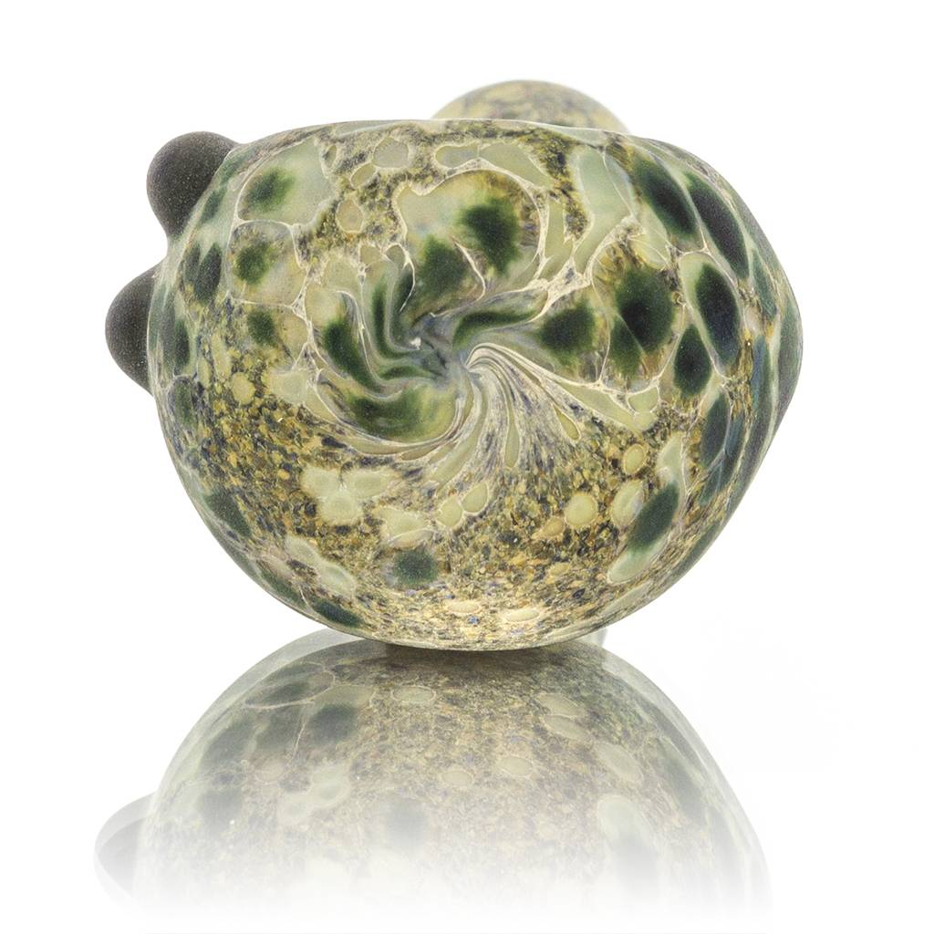 Stone Tech Glass Stone Tech Frosted Glass Gemstone Dry Pipe (H)