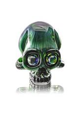 AKM AKM Exp Green Mini Skull Pendant