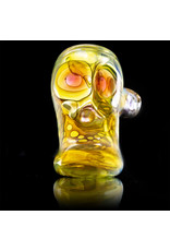 Brad Tenner Brad Tenner Red Eyes Skull Hammer (D) BT Glass